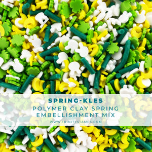 SPRINGkles Clay Embellishment Mix