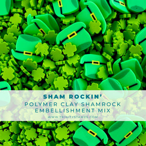Sham Rockin' Clay Embellishment Mix