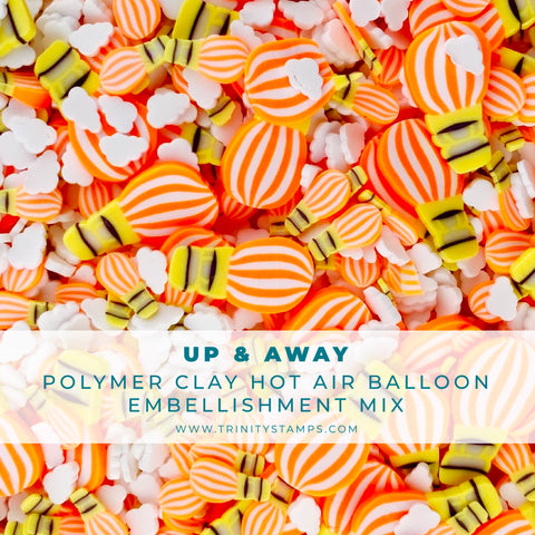 Up and Away Clay Embellishment Mix