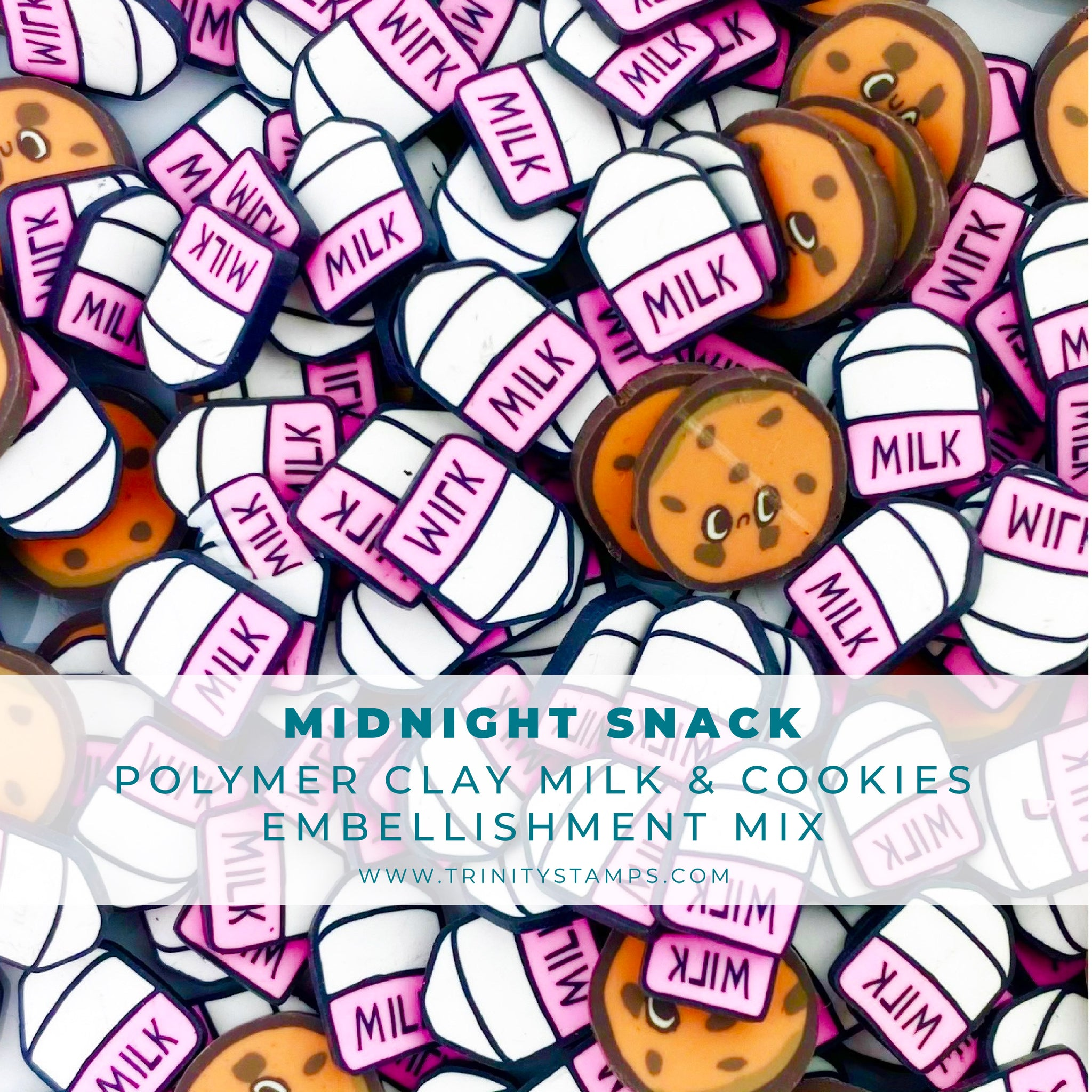 Midnight Snack Clay Embellishment Mix