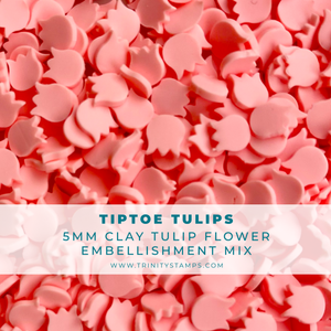 Tiptoe Tulips Embellishment Mix