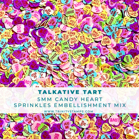 Talkative Tart- Clay Sprinkles Embellishment Mix