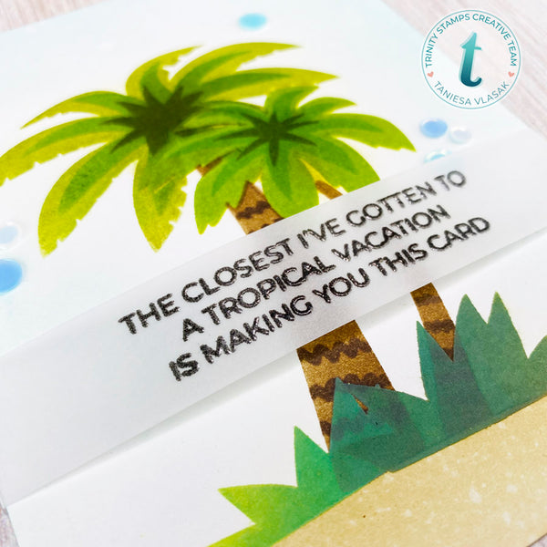 3x4 Summertime Sentiments Stamp Set