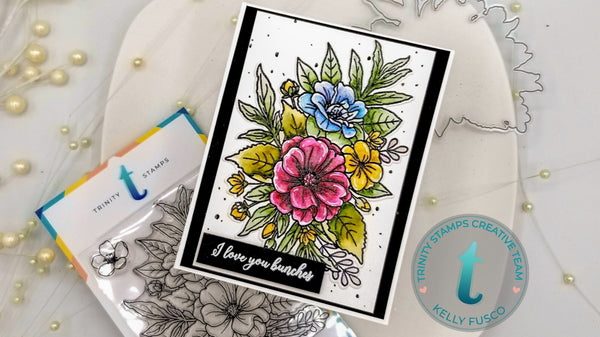 4x6 Love You Bunches Clear Photopolymer Stamp Set
