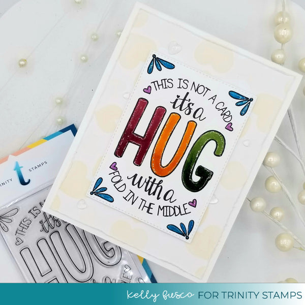 3x4 Folded Hug Stamp Set