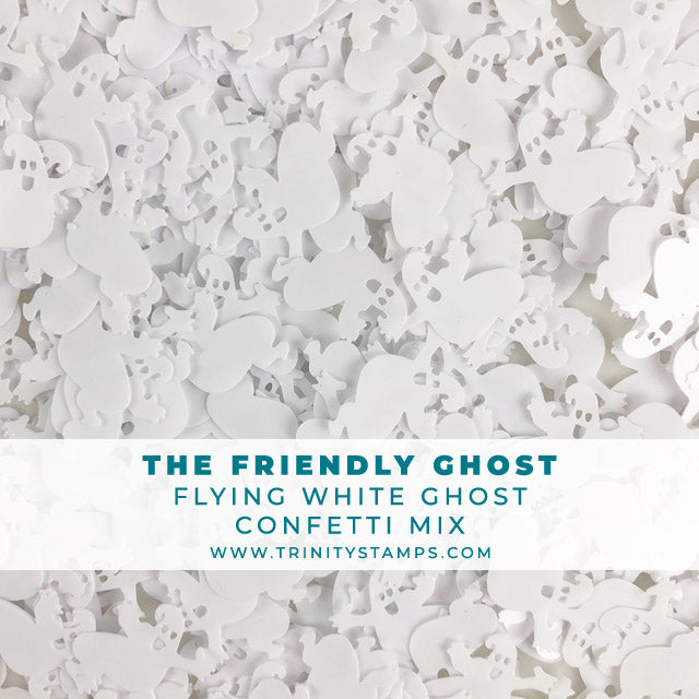 The Friendly Ghost - Confetti Embellishment Mix