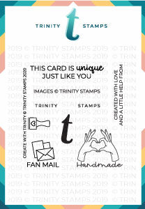 Create With Trinity 3x3 Stamp Set