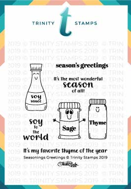 Seasonings Greetings 3x3 Stamp set