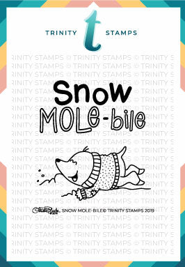 3x3 Snow Mole-bile Stamp Set