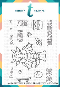 3x4 Rare Friend Stamp Set
