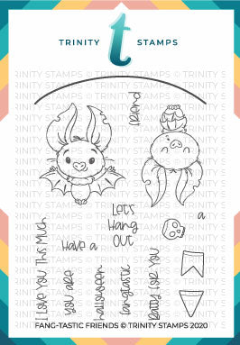 3x4 Fang-tastic Friends Stamp Set