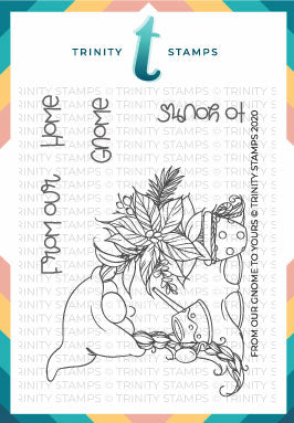 3x4 From our Gnome to Yours Stamp Set