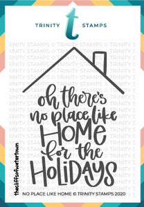3x4 No Place Like Home Stamp Set