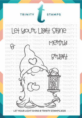 3x4 Let your Light Shine Stamp Set