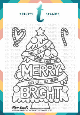 3x4 Merry and Bright Stamp Set