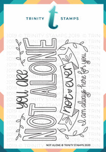 3x4 Not Alone Photopolymer Stamp Set