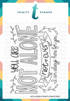 Not Alone 3x4 Stamp Set