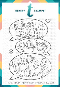 Paper Pep Talk 3x4 Stamp Set