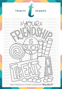 3x4 Sweet Friendship Stamp Set