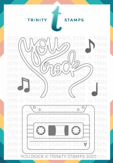 You Rock 3x4 Stamp Set