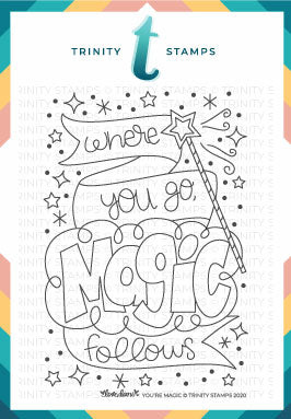 3x4 You're Magic Stamp Set