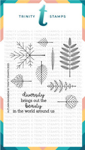 4x4 Autumn Rainbow Stamp Set