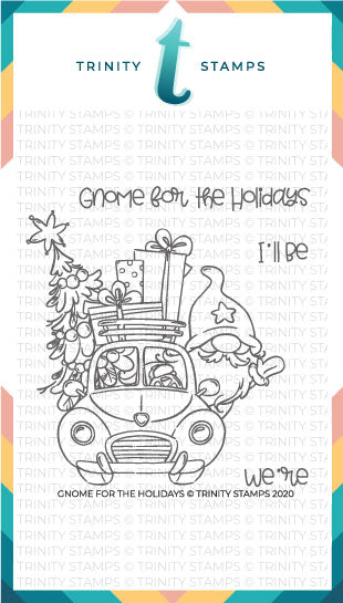 4x4 Gnome for the Holidays Stamp Set