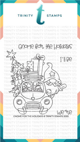 Gnome for the Holidays 4x4 Stamp Set