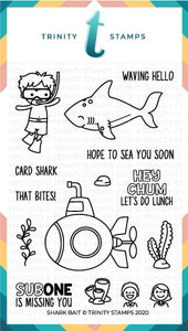 4x6 Shark Bait Stamp Set