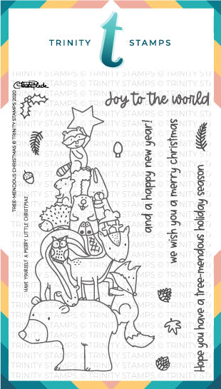 4x6 Tree-mendous Christmas Stamp Set