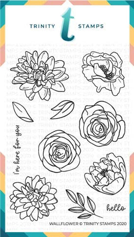 4x6 Wallflower Stamp Set