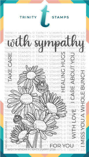 4x6 With Sympathy Stamp Set