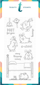Dust Bunnies 4x8 Stamp Set