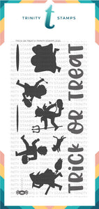 4x8 Trick Or Treat Stamp Set