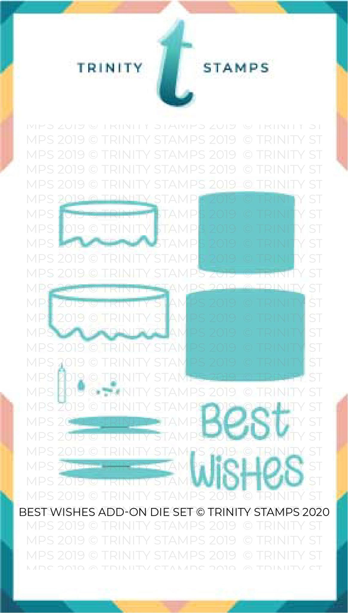 Best Wishes Add-On Die set