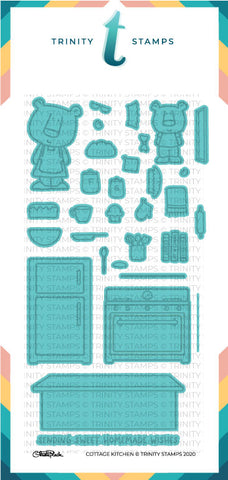 Cottage Kitchen Coordinating Die Set