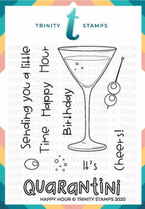 Happy Hour 3x4 Stamp Set