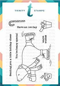 Have A Ice Day 3x4 Stamp Set
