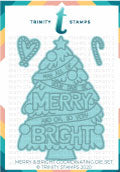 Merry And Bright Coordinating Die Set