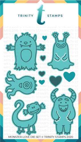 Monster Love Coordinating Die Set