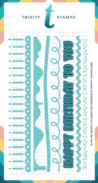 Slimline Series: Celebration Borders Die Set