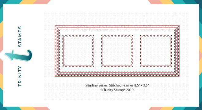 Slimline Card Series: Stitched Card Panels and Windows *BACKORDER*