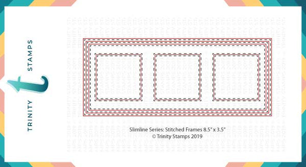 Slimline Card Series: Stitched Card Panels and Windows