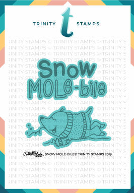 Snow Mole-bile Coordinating Die Set