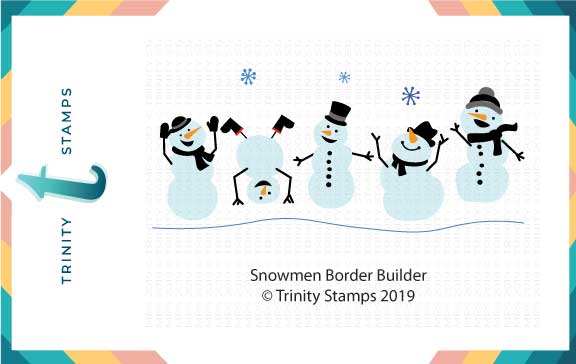 Snowmen Border Builder Die Set