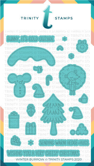 Winter Burrow Coordinating Die Set