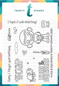 Hugs & Squishes 3x4 Stamp Set