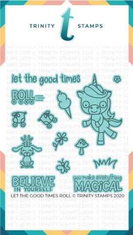 Let The Good Times Roll  - Coordinating Die Set