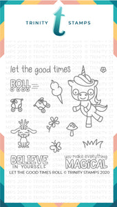 Let The Good Times Roll 4x4 Stamp Set