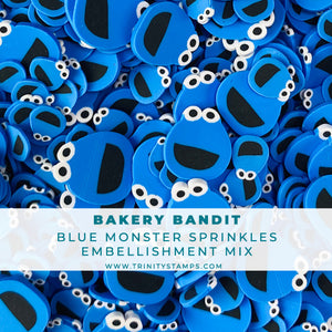 Bakery Bandit- Clay Sprinkles Embellishment Mix